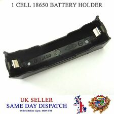 DIY 18650 Li-Po Cell Battery Plastic Holder 3.7V PCB Case 3.6V 4.2V Box