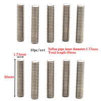 10pcs Barrels M6 Steel Nozzle Throat for 3D Printer Extruder 1.75mm/30mm #ur1