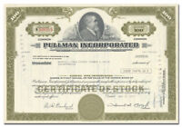 Pullman Incorporated Stock Certificate