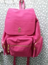 Juicy Couture Girl Pink Classic Nylon Backpack