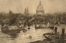 Estampes, gravures et lithographies du XIXe siècle et avant signés architecture en réalisme