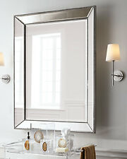 900MM X 1210MM LARGE WALL MIRROR-ART DECO-bedroom metro dressing leaning