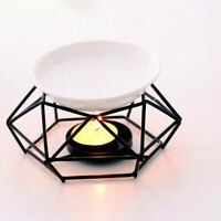 Metal Oil Burner Candle Wax Melt Candlestick Tealight Warmer Aromatherapy Reliab