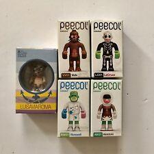 "Toy2r 3"" Qee Luisaviaroma Sandrokan & Kidrobot eBoy Peecol Vinyl Toy Lot"