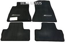 NEW LEXUS OEM FACTORY FLOOR MAT SET 2006-2012 IS250  2006-2012 IS350 2WD (BLACK)