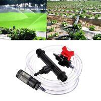 1/2 & 3/4 Zoll Bewässerung Dünger Injektor Kit mit Wasserrohrschalter Filte