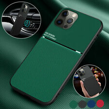 Metal Leather Phone Case For iPhone 12 11 13 Pro Max Xs Xr 8 7 Plus Cover
