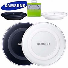 Wireless charger Galaxy S6 S6+ S7 Edge S8 QI Wireless Charger Charging Pad White