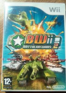 BATTALION WARS 2 BW ii Nintendo Wii PAL new and sealed