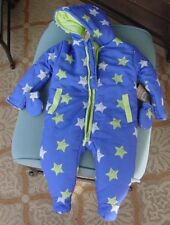 Lily & Jack Boys One Piece Hooded Snowsuit Sz 6-12 Months NWT Style K12368