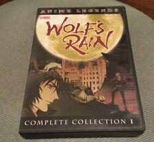 Wolf's Rain Complete Collection 1:Vol.1-4 DVD-2004--Bandai-Anime Legends-Rare