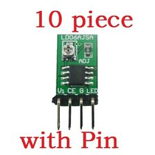 10 PCS DC 3V 6V  30-1500mA Adjustable LED Driver PWM DC-DC  Current Converter