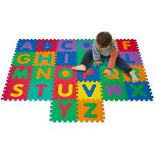 Alphabet Foam Educational Tile Play Area Mat Kids Toddler Boys Girls Gift 26 Pcs