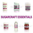 Rainbow Dust Sugarcraft Essentials Cake Decorating Tylos CMC Gum Trag Glue Glaze