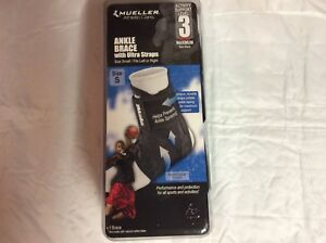 Mueller Athletic Care Ankle Brace With Ultra Straps Activity Support Level 3
