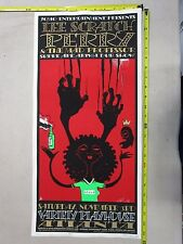 MB/2001 Concert Poster Lee Scratch Perry Jeff Wood Dave Crosland S/N LE # 250