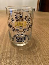 Indianapolis 500 Race Winners from 1911-1971 Commemorative Glass