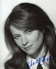 AUTOGRAPHE SUR PHOTO 20 x 25 de Charlotte RAMPLING signed in person Photo Proof