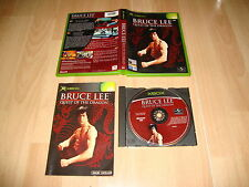 BRUCE LEE QUEST OF THE DRAGON DE UNIVERSAL PARA LA PRIMERA XBOX USADO COMPLETO