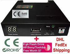 Floppy Drive to USB Converter for Biesse Rover  + free 8 GB Flash Drive (1.44)