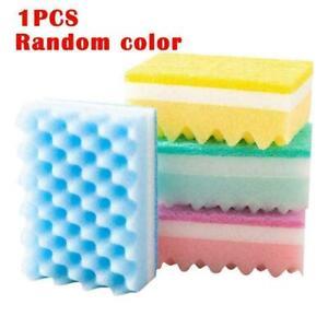 1xSponge Brush Dish Washing Cleaning Kitchen Pad Soap Tool Cleaner U1O4 K9C0