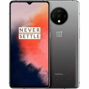 """* New OnePlus 7T 256GB HD1907 (GSM UNLOCKED) 6.55"""" 8GB RAM, Frosted Silver"""