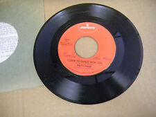 PATTI PAGE i love to dance with you/ near you  7067  r mercury 45