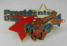 UNIVERSAL STUDIOS LIMITED EDITION MARVEL SPIDER-MAN PIN PRESIDENTS DAY ONLY 500