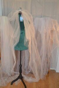 Joyce Jackson Double Cream Veil Original Price £145