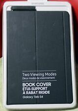 SAMSUNG GALAXY TAB S4 BOOK COVER (BLACK) - EF-BT830PBEGCA