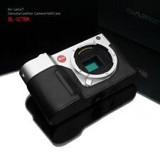 GARIZ BL-LCTBK Black Label Leather Half Case for Leica T Black