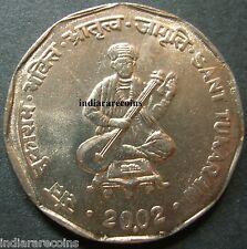 India Inde Indien Singer Musician Music Poet Tukaram UNC New 2002 2 Rs