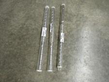 """Westward Spline Shank Hammer Drill Bits ( 1-1/8"""" X 22"""" ) *Package Of 3*"""