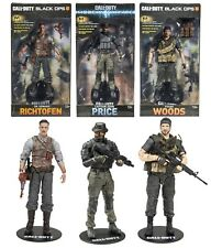 Call of Duty Captain Price Frank Woods Dr Richtofen Figures McFarlane IN STOCK