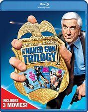 NAKED GUN TRILOGY COLLECTION (Leslie Nielsen) - BLU RAY - Region free