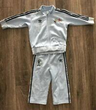 RARE Adidas SP GOOFY DISNEY firebird Track Suit Jacket Top-Pant superstar 2T