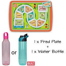 Fred Dinner Winner Children's Food Tray Kids Play + 1 BUILT 710ml Drinks Bottle