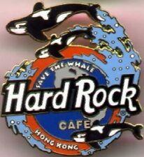 "Hard Rock Cafe HONG KONG 1997 ""Save the Whale"" PIN ESS #1 - HRC Catalog #3019"