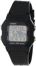Casio W800H-1A Mens Black Resin 100M Digital Sports Watch