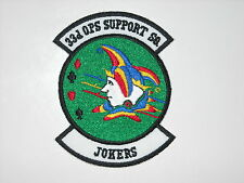USAF AIR FORCE 33RD OPERATIONS SUPPORT SQUADRON 33 OSS F-35 LIGHTNING JSF PATCH