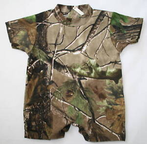 Realtree Camo Baby Romper, Infant Camouflage