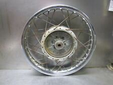 "Suzuki 1973 GT250 Rear Wheel Rim & Hub 1.85 x 18"" Drum Brake"