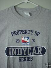 Indianapolis Indy 500 Racing Grey T-Shirt 2005 New L