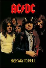 AC/DC Highway to Hell Music Poster Art Print 24X36 (61X91.5cm)