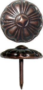 Antique Copper Finish Decorative Nail Clavos AC3526