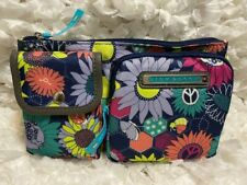 Lily Bloom Women's Janet Belt Bag Sunflower Peace Vivian Expandable to 40 inches