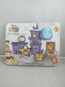 Jakks Disney Tsum Tsum Woody's Round Up Series 7 - 7 Mini-Figures - Toy Story