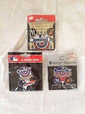 2014 Opening Day ThreePin Set Yankee Stadium New York Yankees Baltimore Orioles