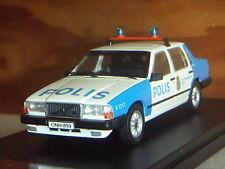 VOLVO 740 POLICE - PREMIUM au 1/43ème