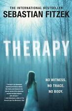 Therapy, Sebastian Fitzek, Good Condition, Book